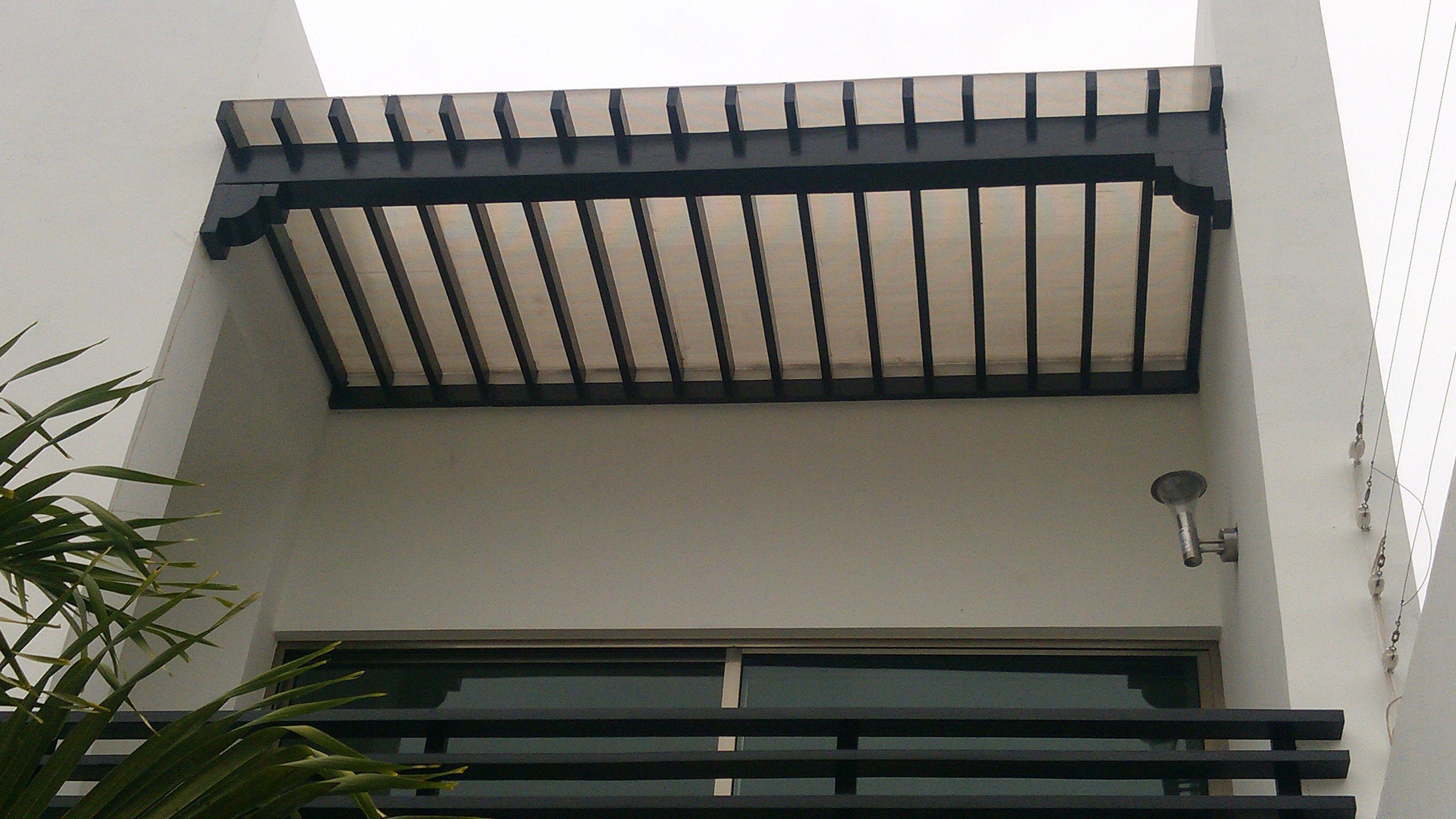 13 Pergolas para balcones