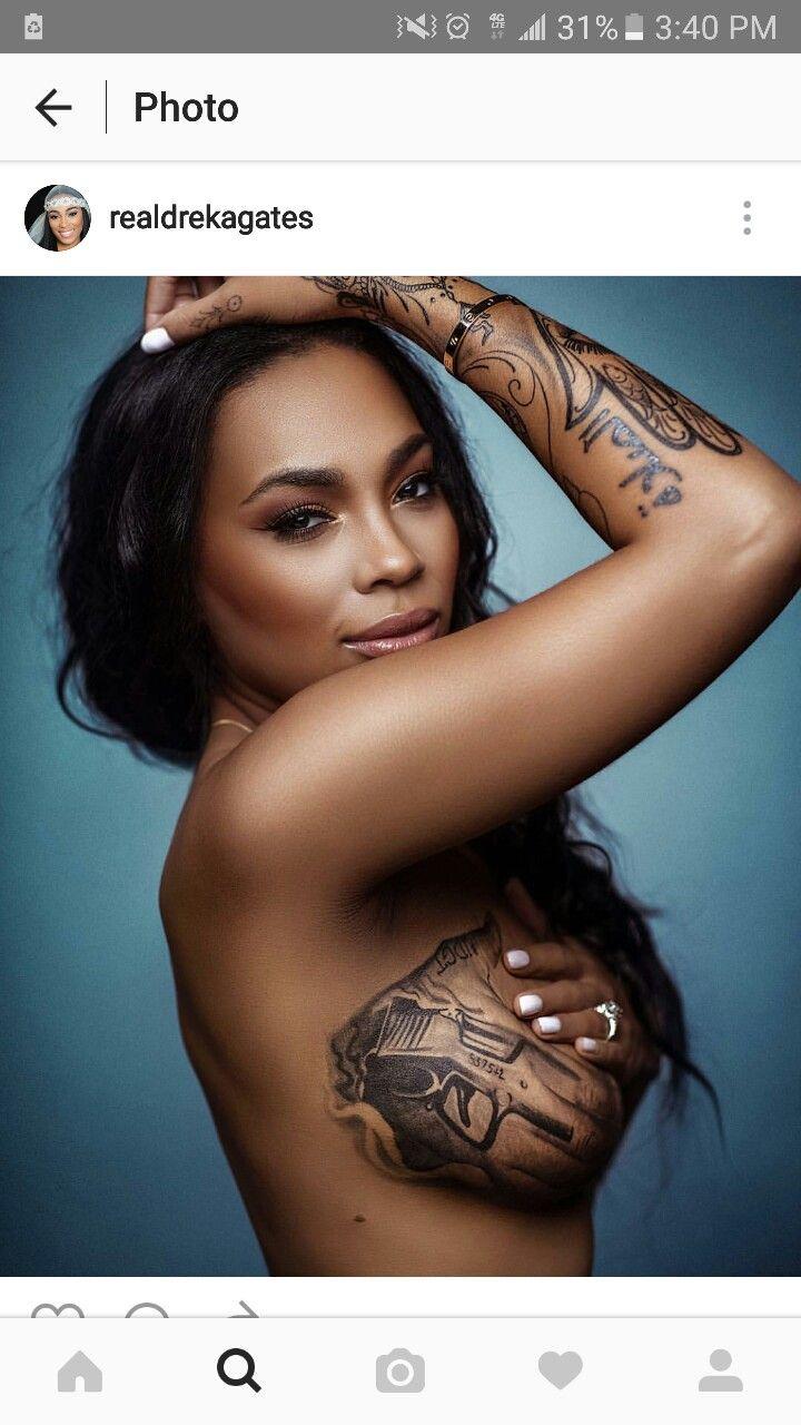 Dreka Gates Tattoo : dreka, gates, tattoo