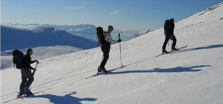 Esquí a fondo en Laponia Noruega