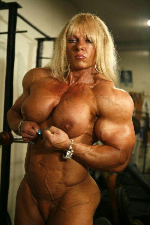 Big nude muscle women movies