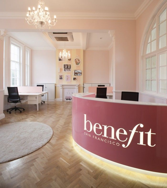 Office Tour Benefit Cosmetics Chelmsford Offices Contemporary Office Design Office Interiors Office Design
