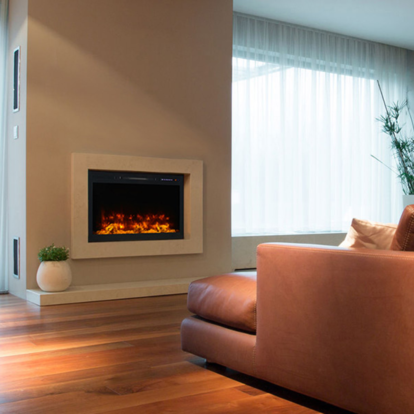 Most Recent Screen Electric Fireplace Built In Strategies Ev