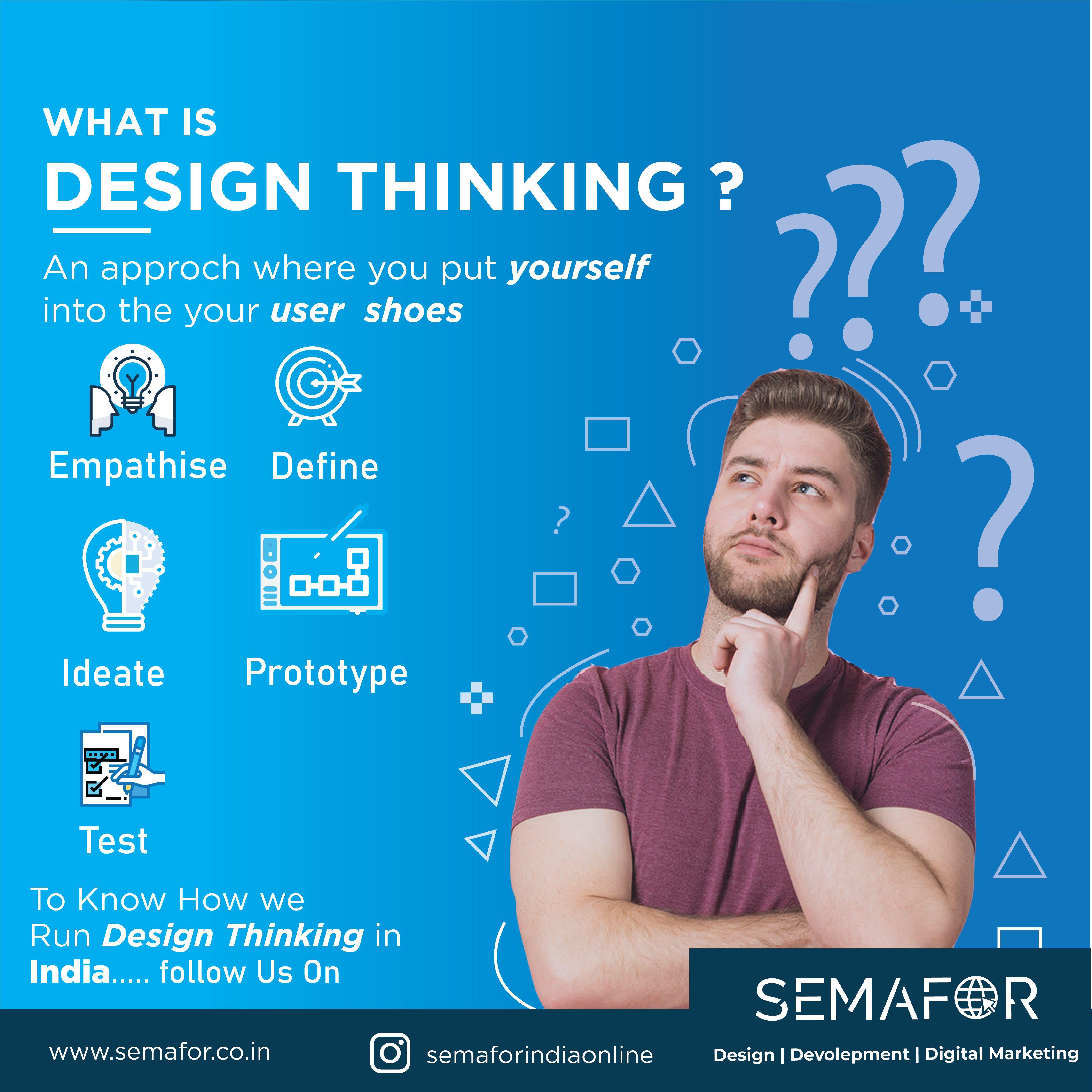 Design thinking process semafor india design thinking