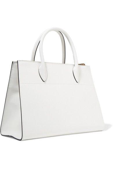 994b71b3d18f Prada - Paradigme Textured-leather Tote - White