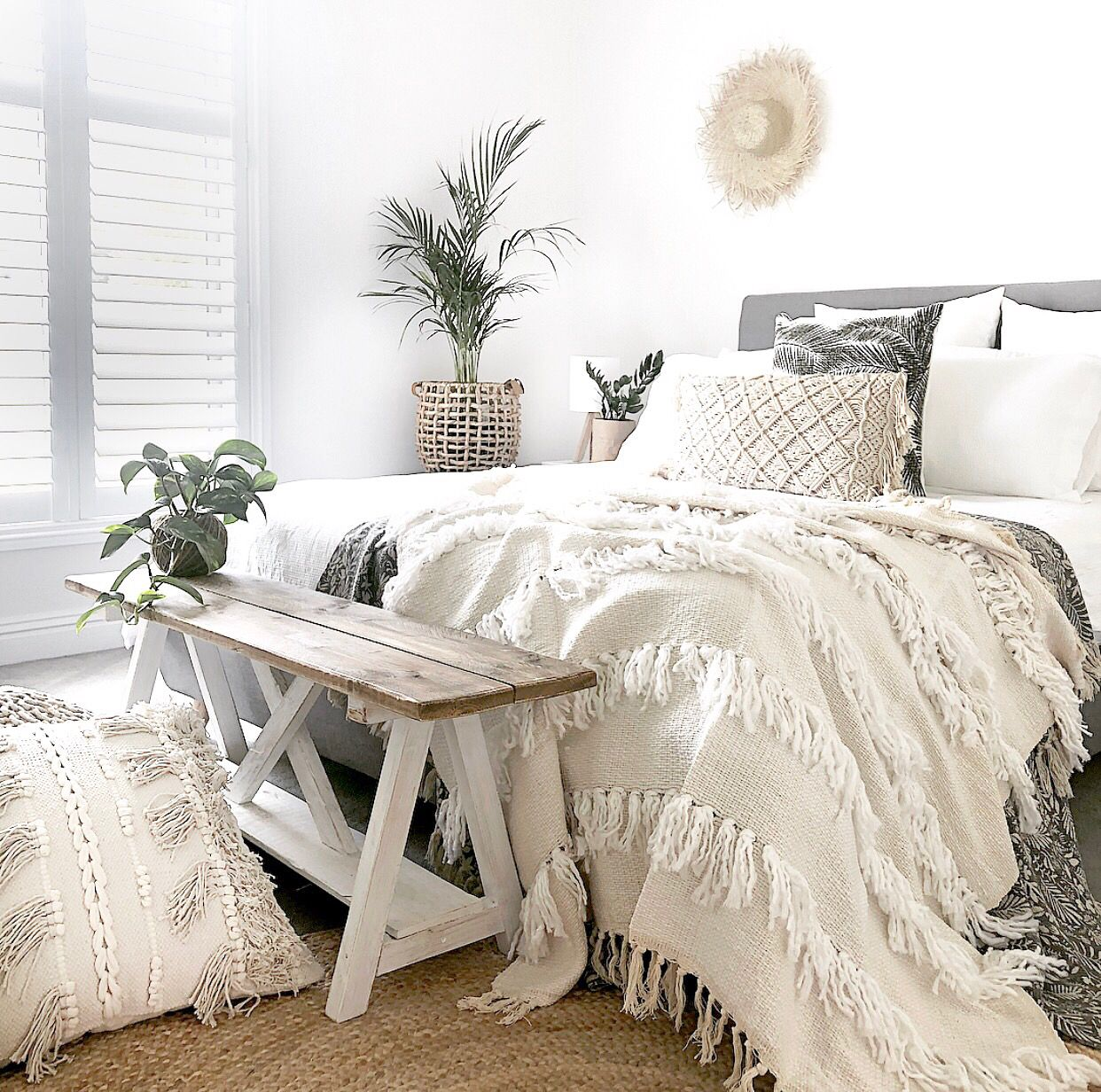 I Ve Created A Bohemian Oasis In Our Guest Bedroom Using Neutral