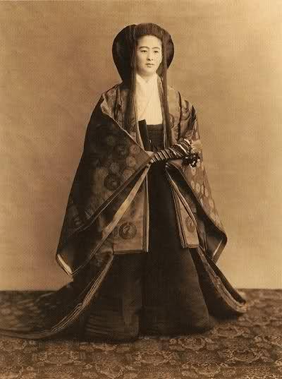 antique royal kimono