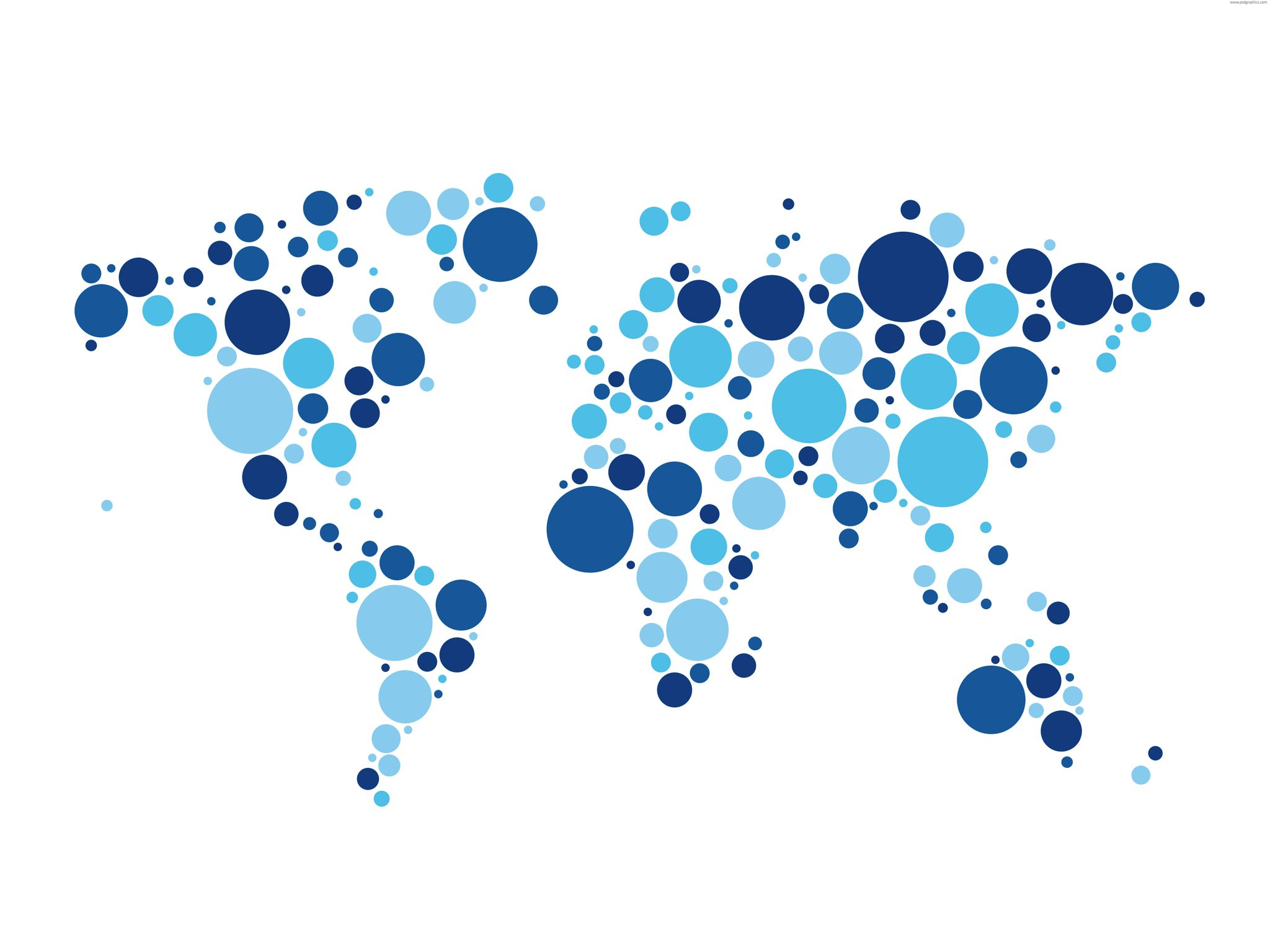 A world map made by blue dots world maps pinterest a world map made by blue dots gumiabroncs Image collections