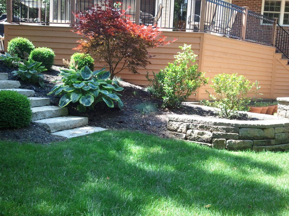 Beau Retaining Wall Steps And Gardening.