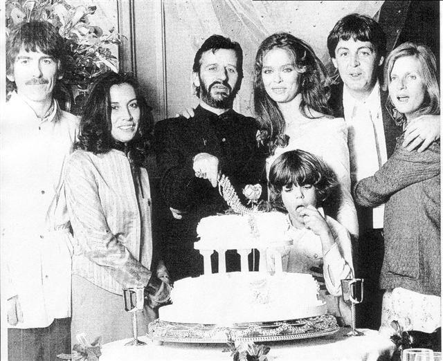 Ringo Starr Barbara Bach Wedding The Beatles Ringo Starr George Harrison