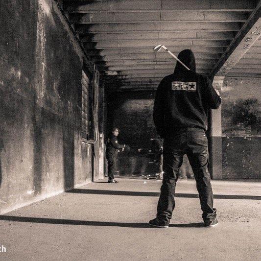 Pic by Yak www.bild-punk.ch #crossgolf #urbangolf #rugc #theroyalurbangolfclub #xgolf #offgolf #xgolf