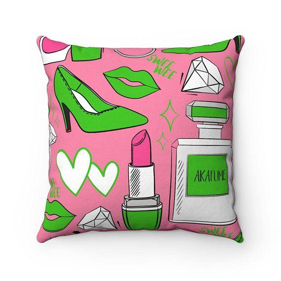Pink Aka Glam Decorative Pillow Alpha Ka Home Decor