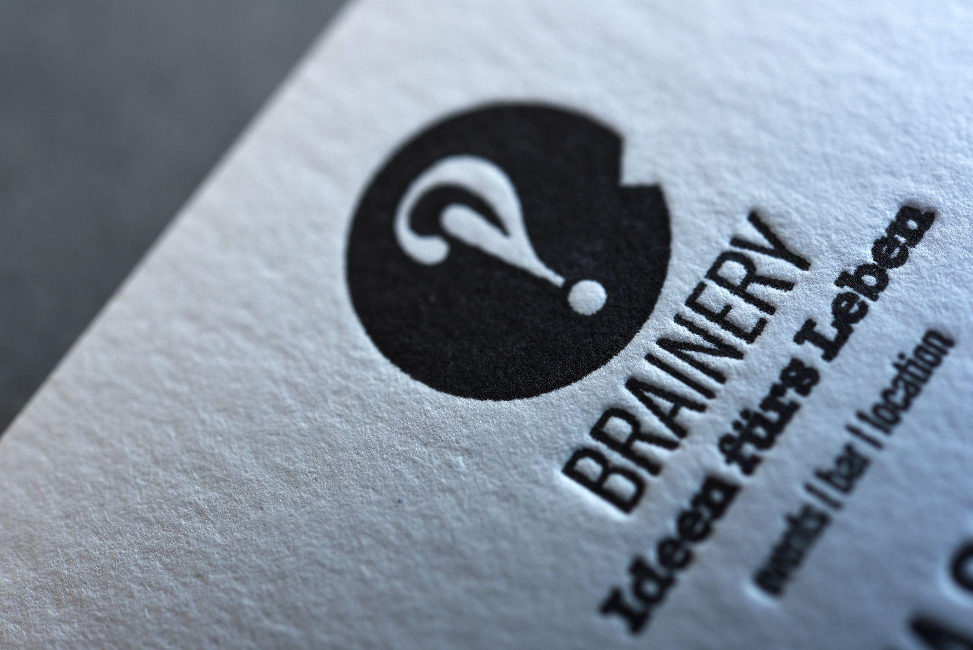 Drucktechnik Letterpress Papier Gmund Cotton 600 G Qm