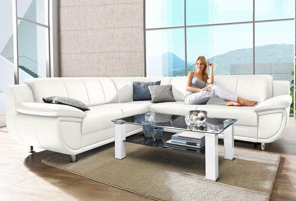 Polsterecke, wahlweise mit Bettfunktion | Otto möbel, Armlehnen und Frei