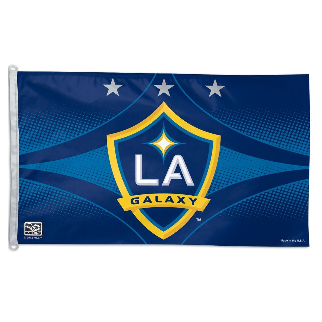 Mls La Galaxy Soccer Flag Us Flag Store Soccer Flags