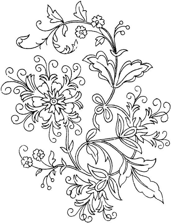 Flower Coloring Page Flower Coloring Pages Printable Flower Coloring Pages Free Printable Coloring Pages