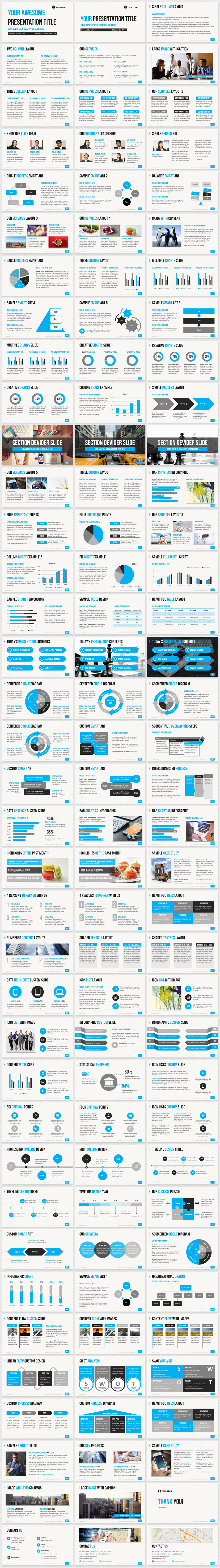 Professional business powerpoint templates with 17 high quality professional business powerpoint templates with 17 high quality template slide layouts 6 color themes to create a smart powerpoint presentation fast flashek Gallery