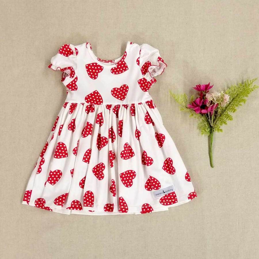51f8c27d6237 Alberta Dress | Heart Print | Valentines | Valentine's Day | Heart Dress |  Heart Leo | Heart | Peplum Shirt | Girls Top | Twirl Dress | Spring Styles  for ...