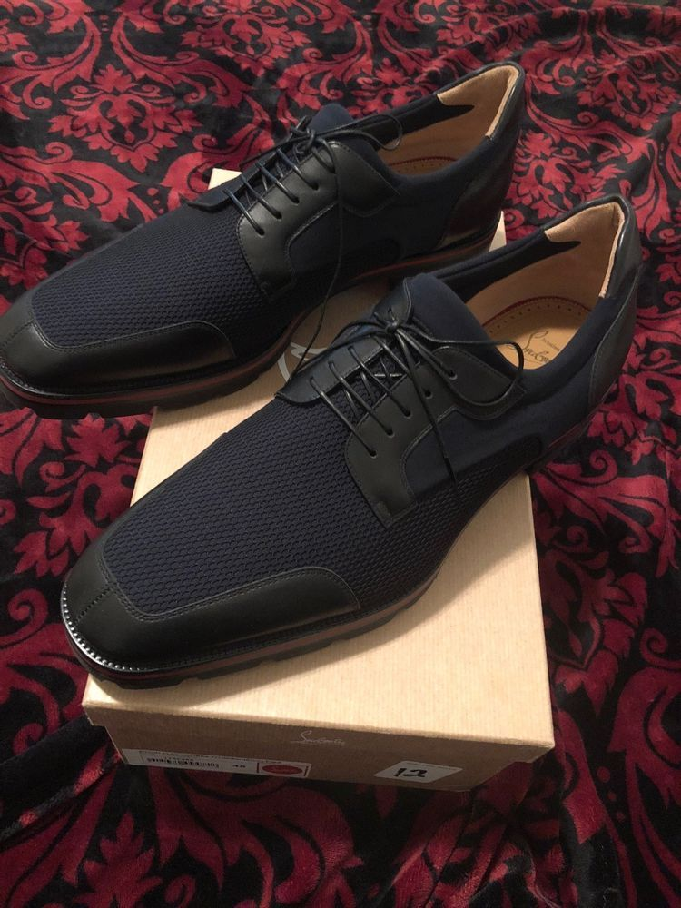 christian louboutin mens shoes 45 US