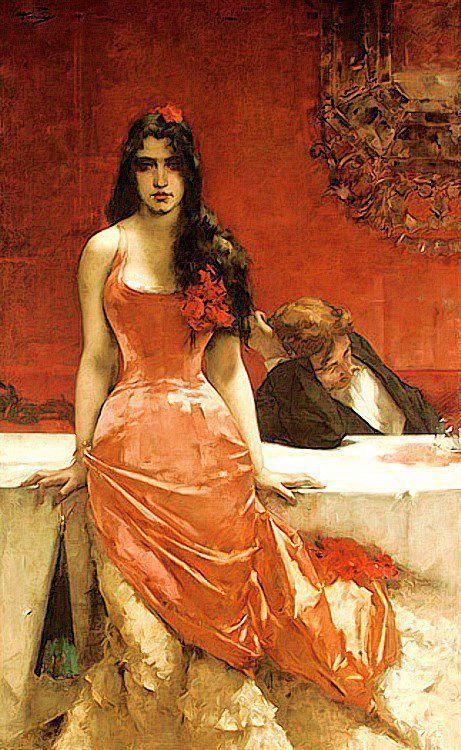 "Charles Hermans: ""Circe the Temptress"", 1881."