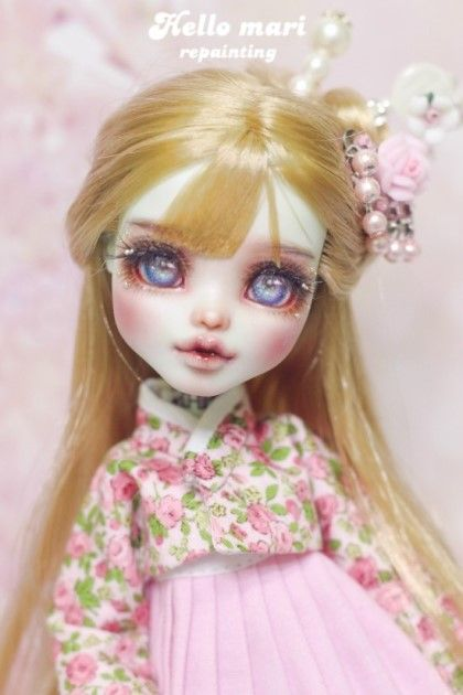 Pin by evangeline sun on hello mari customs doll custom - Bbs dollhouse ...