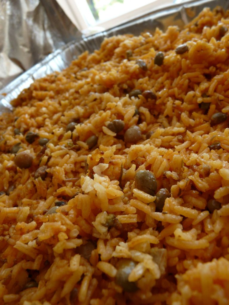 Puerto Rican Rice The Kitchen Tourist Pierto Rican
