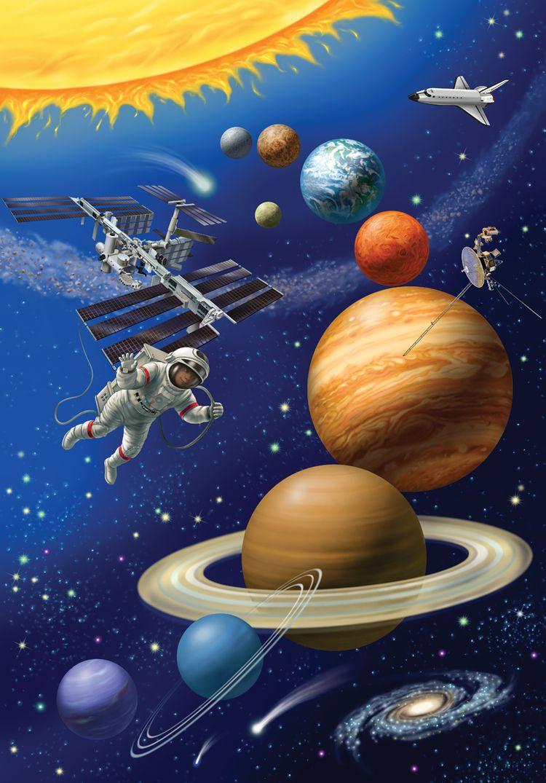 Картинке о космосе для детей
