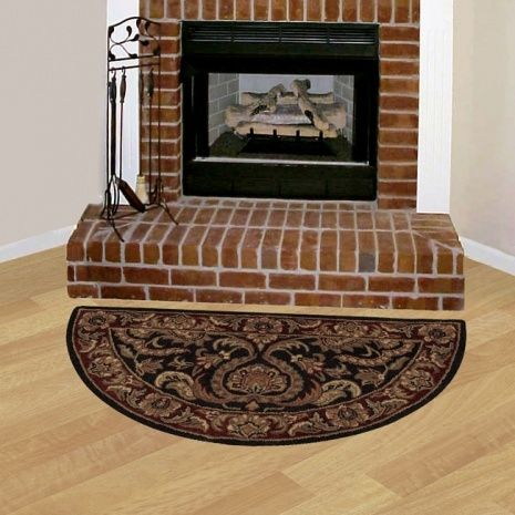 Flame Resistant Hearth Rugs