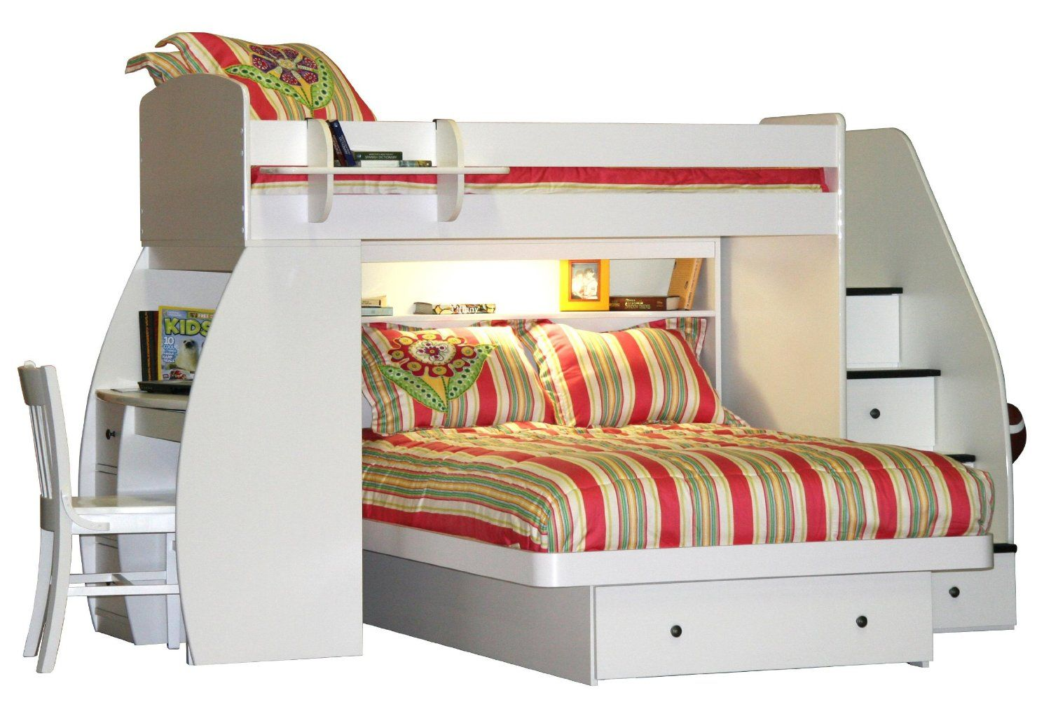 Bunk Beds With A Queen On Bottom