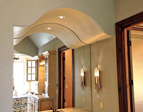 Prefab Arch Bell Curve From Archways And Ceilings Decor Arch