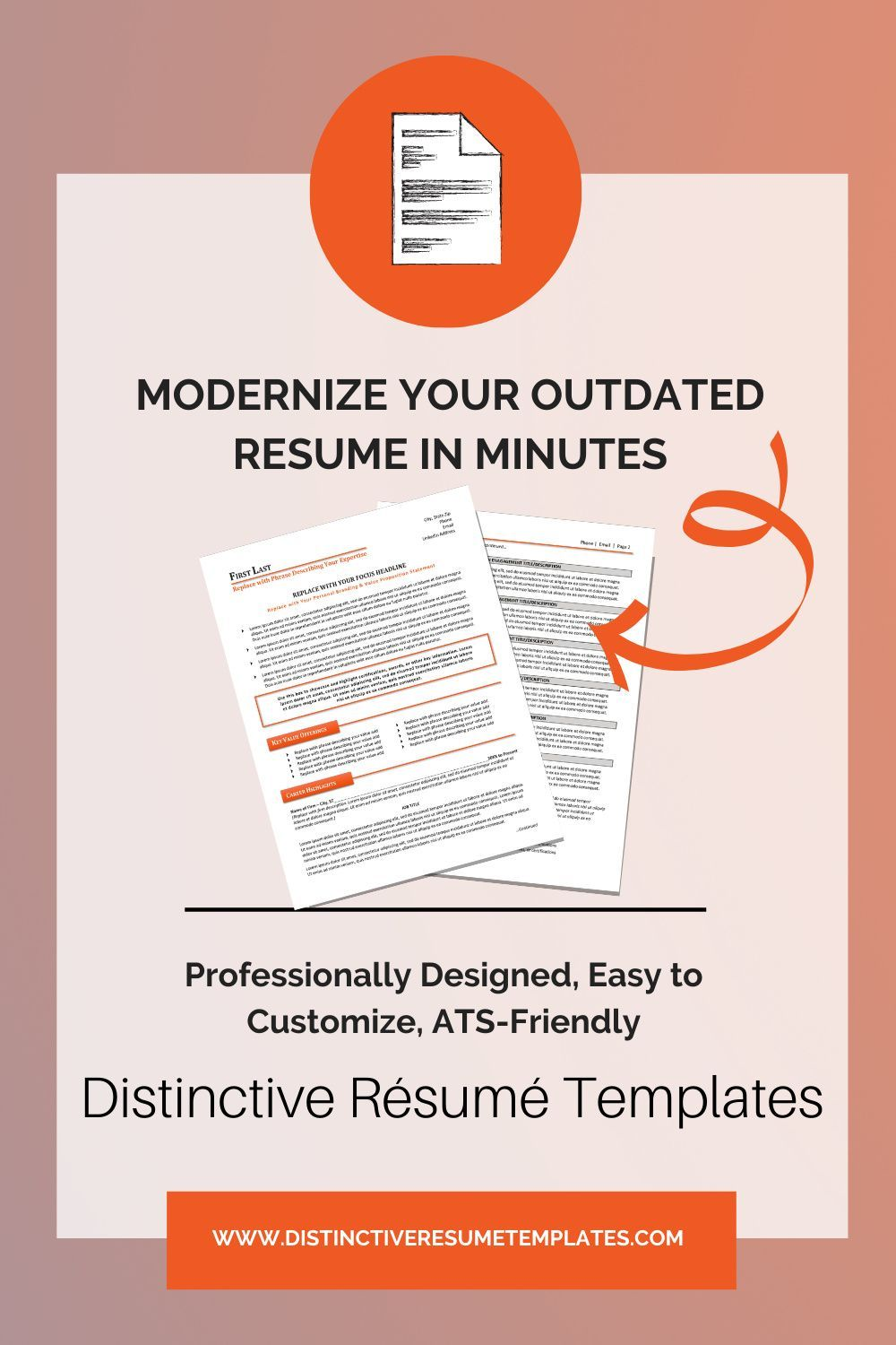 Creative Resume Templates in 2020 Resume template word