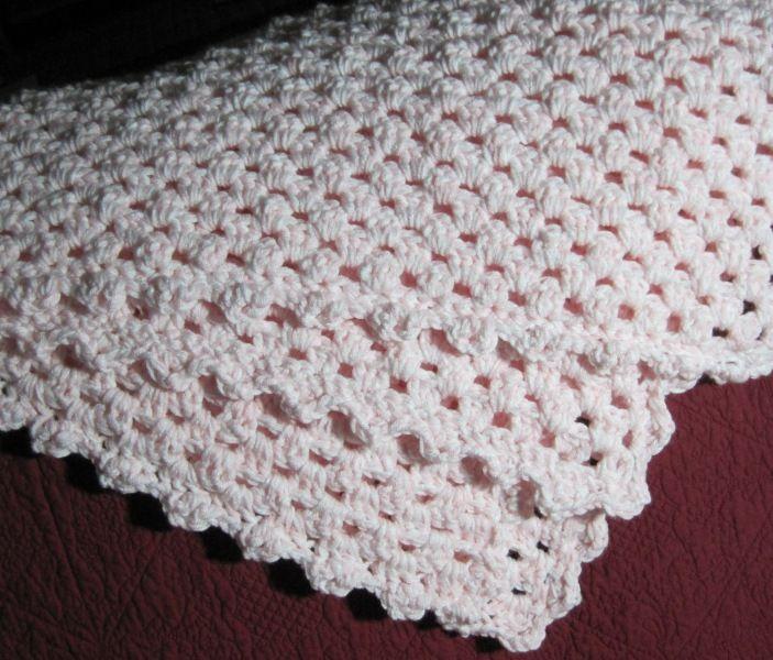 Granny Stripe Crochet Baby Blanket - Stitcher\'s Showcase | bebe ...