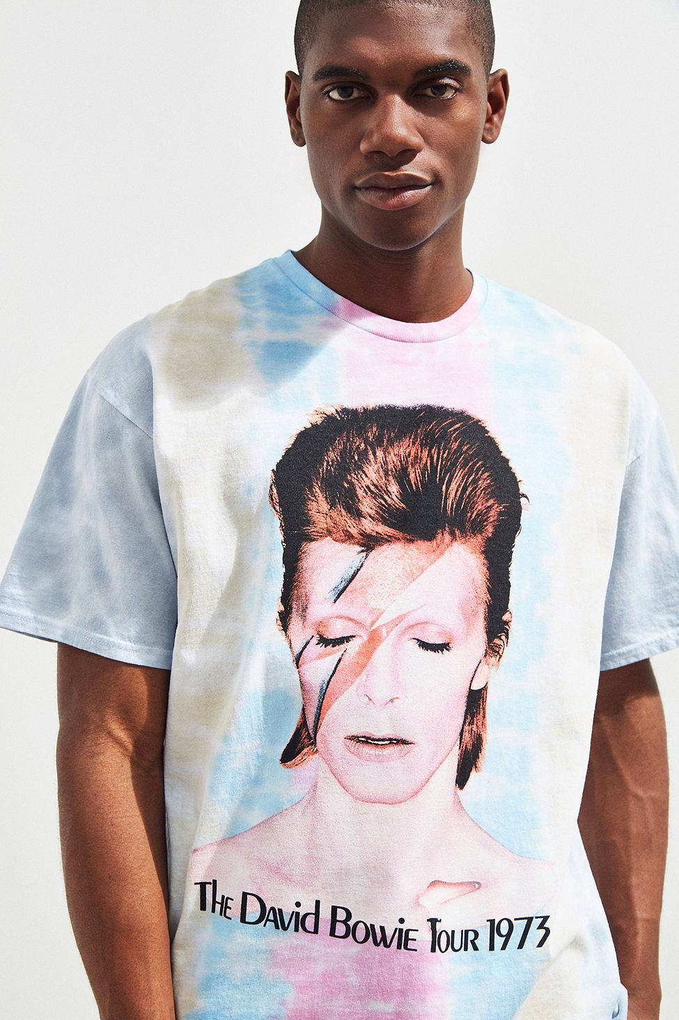 bf71ef706b Urban Outfitters David Bowie Tie-Dye Tee - Multi