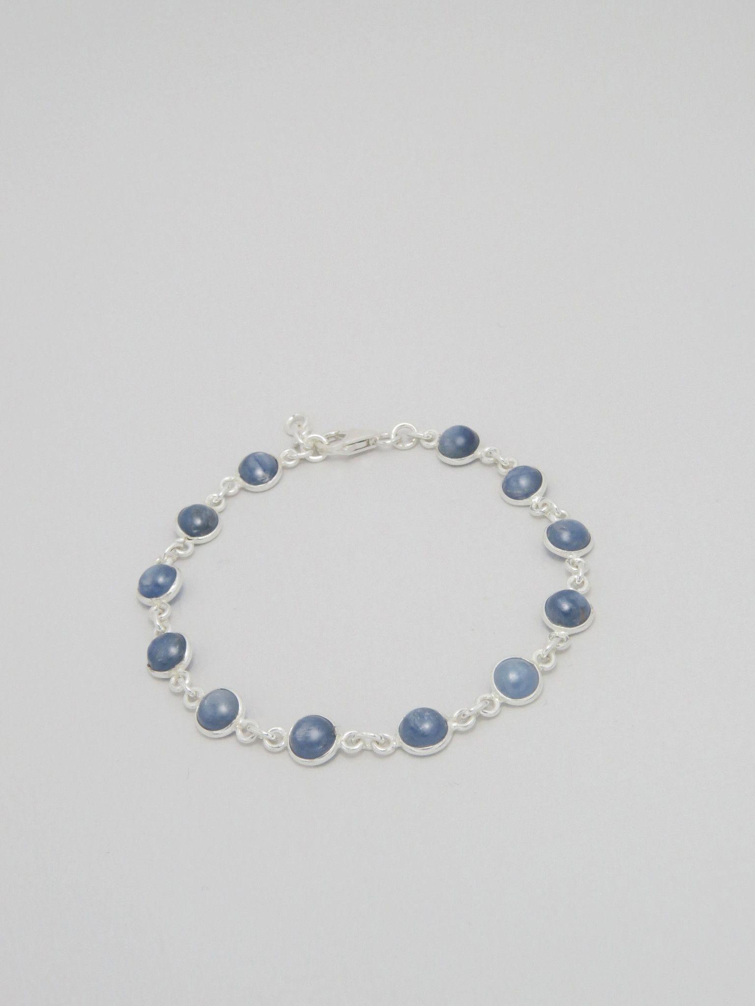 Kyanite Sterling Silver Bracelet