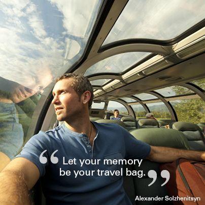 """Let your memory be your travel bag."" Alexander Solzhenitsyn  #quote #motivational #travel"