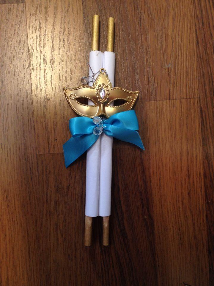 handmade masquerade qinceñera invitations. :) I can't ...