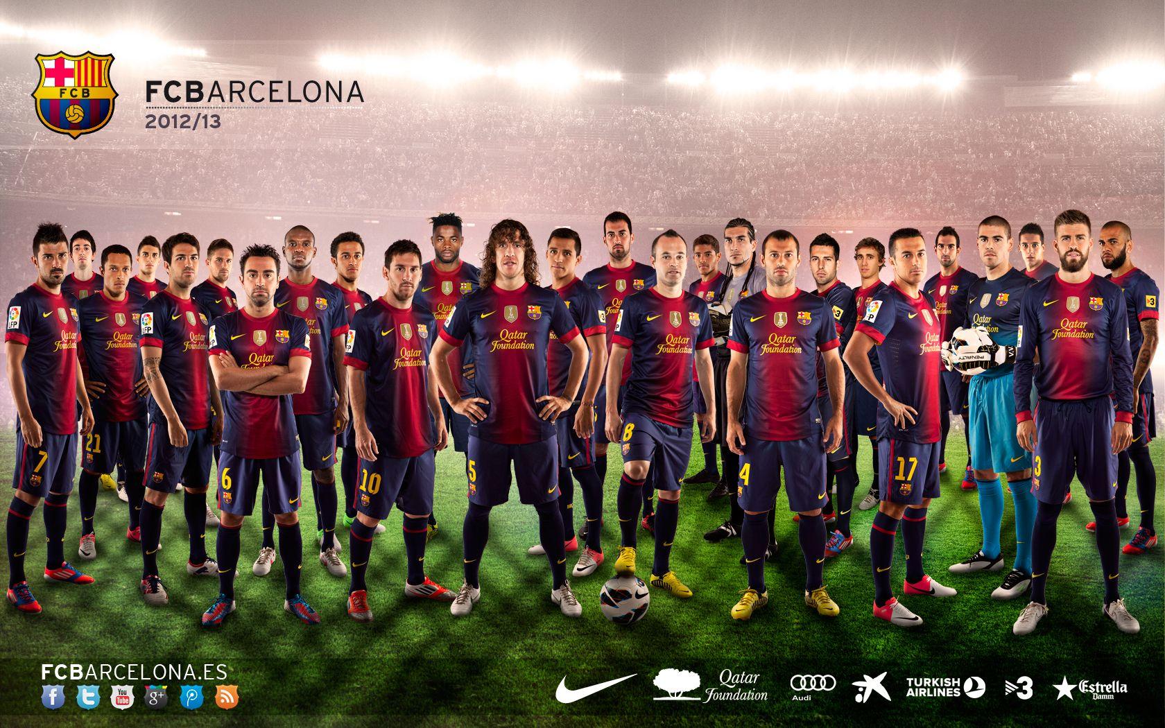 Our squad for the 20122013 season fc barcelona pinterest barcelona soccer voltagebd Images