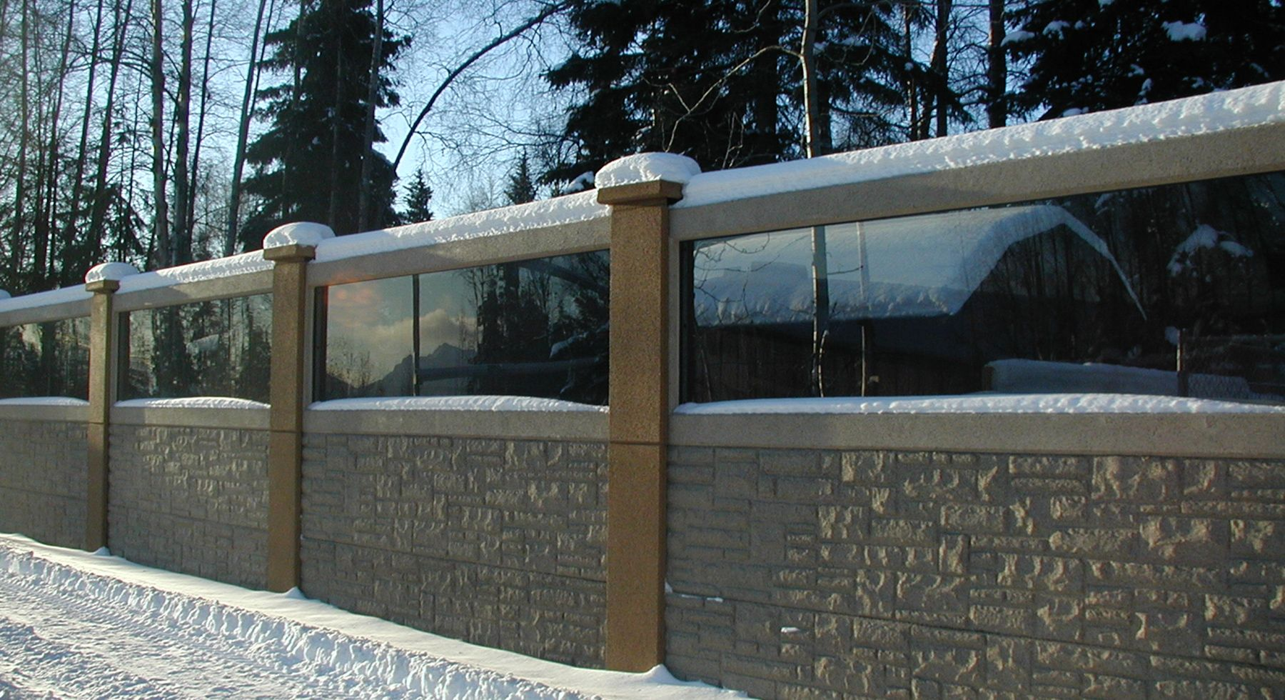 Acoustic Sound Barrier Wall And Highway Sound Wall Barrier Panels