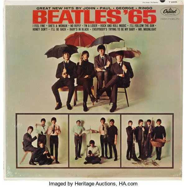 Of albums value beatles The top