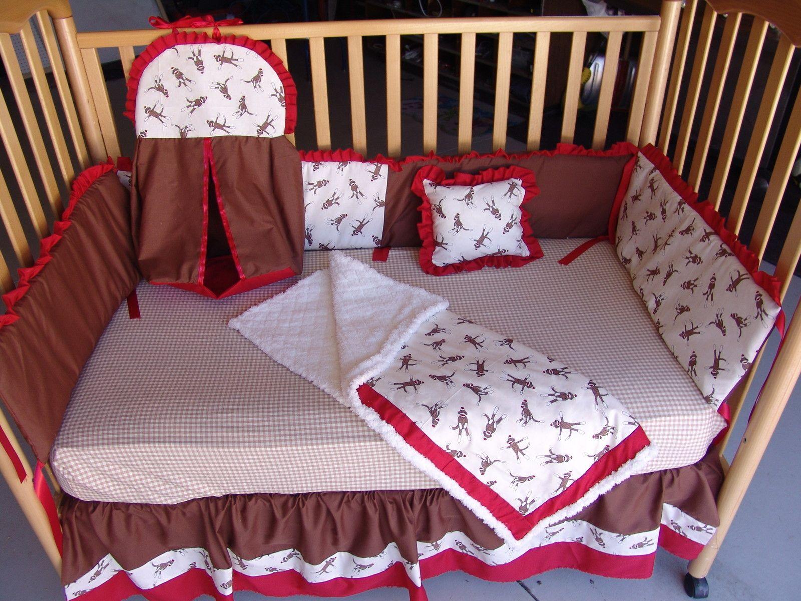 Sock Monkey Crib Bedding Future Family 3 Pinterest