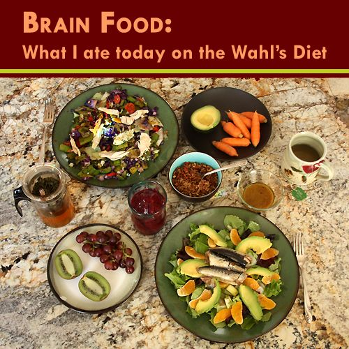 Foy Update: Brain Food: What I ate today on the Wahls Diet