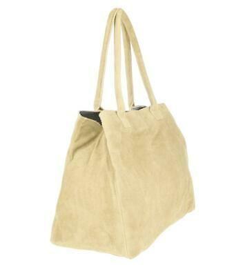 Photo of Ital Women's Leather Shopper Suede Tote Bag Shoulder Bag Handbag  | eBay