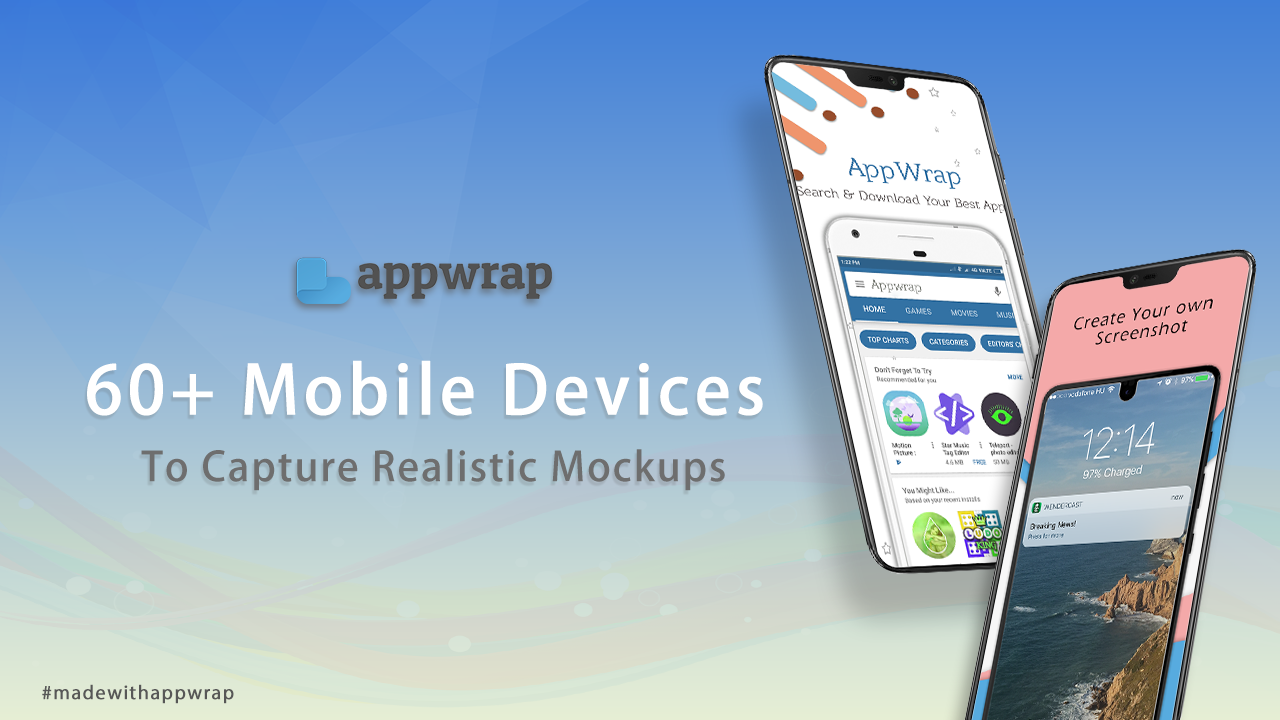 Madewithappwrap Explore The Widest Collection Of Mock Up Device With Appwrap Appwrap Mobile App Android Mockup App Samsung Galaxy Phone Mockup