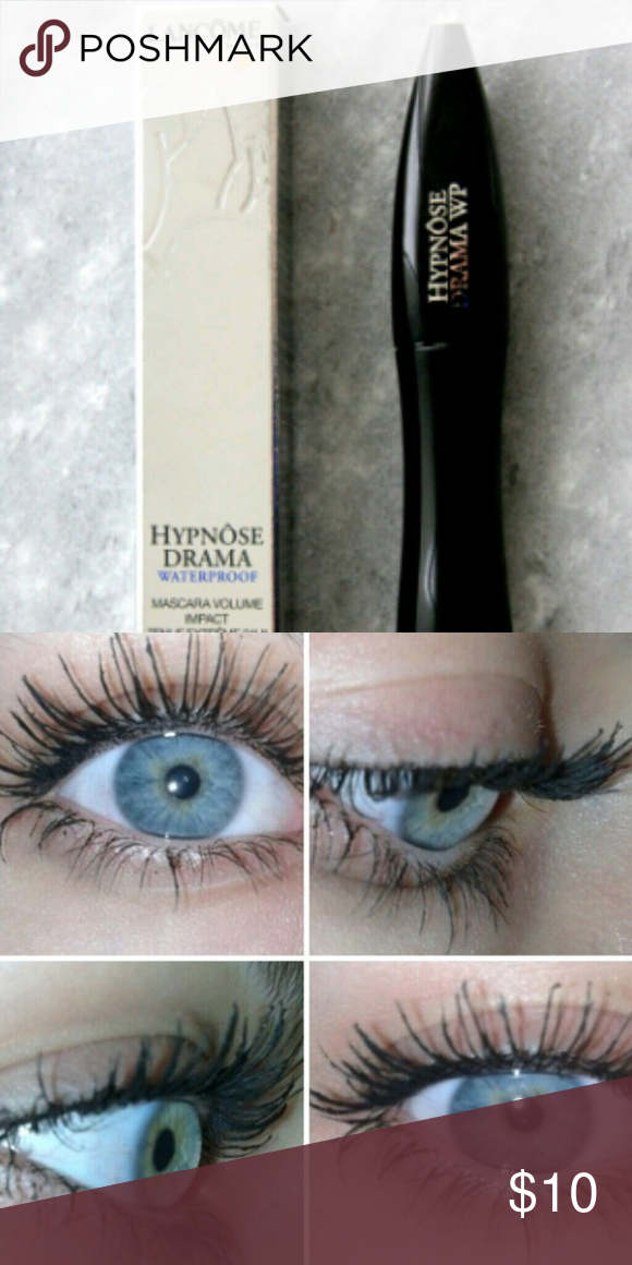 21afbdc2779 Lancome Hypnose mascara in shade drama black. Name says it all. This mascara  is the real deal and definitely dramatic! Doesn't run and you really just  need ...