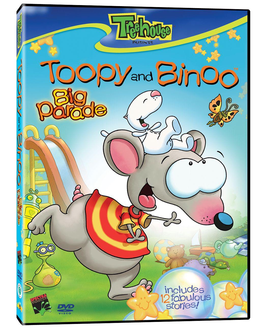the big parade toopy u0026 binoo pinterest