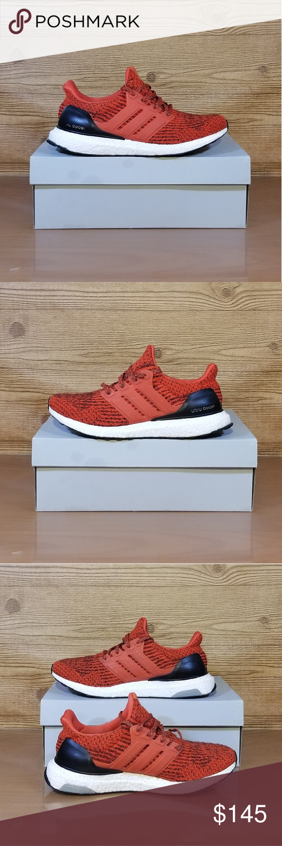 013aaea42f518 Adidas Ultra Boost 3.0 -Energy Red- Adidas Ultra Boost 3.0- S80635- Mens