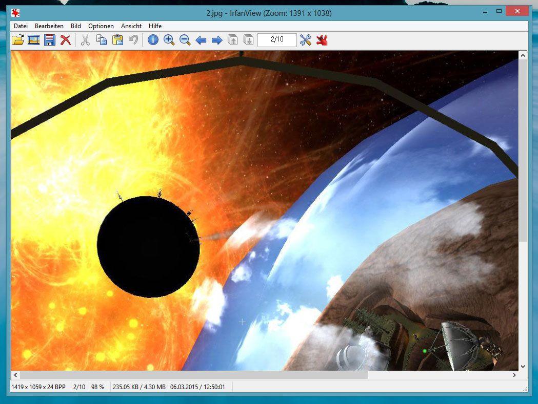 IrfanView (32 Bit) 4.44 Deutsch: IrfanView ist ein prima Freeware ...