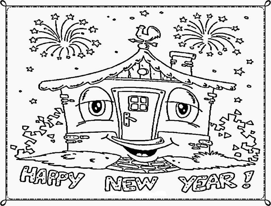 happy new year coloring pages new year is celebrated all over the world just after christmas