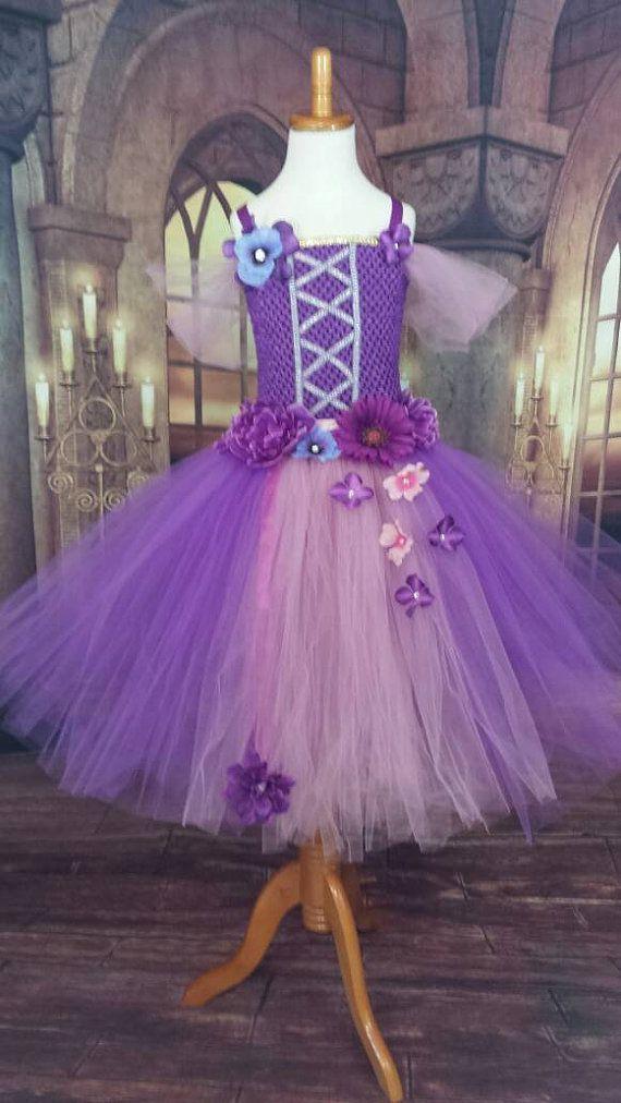 83253db70 Vestido de Rapunzel