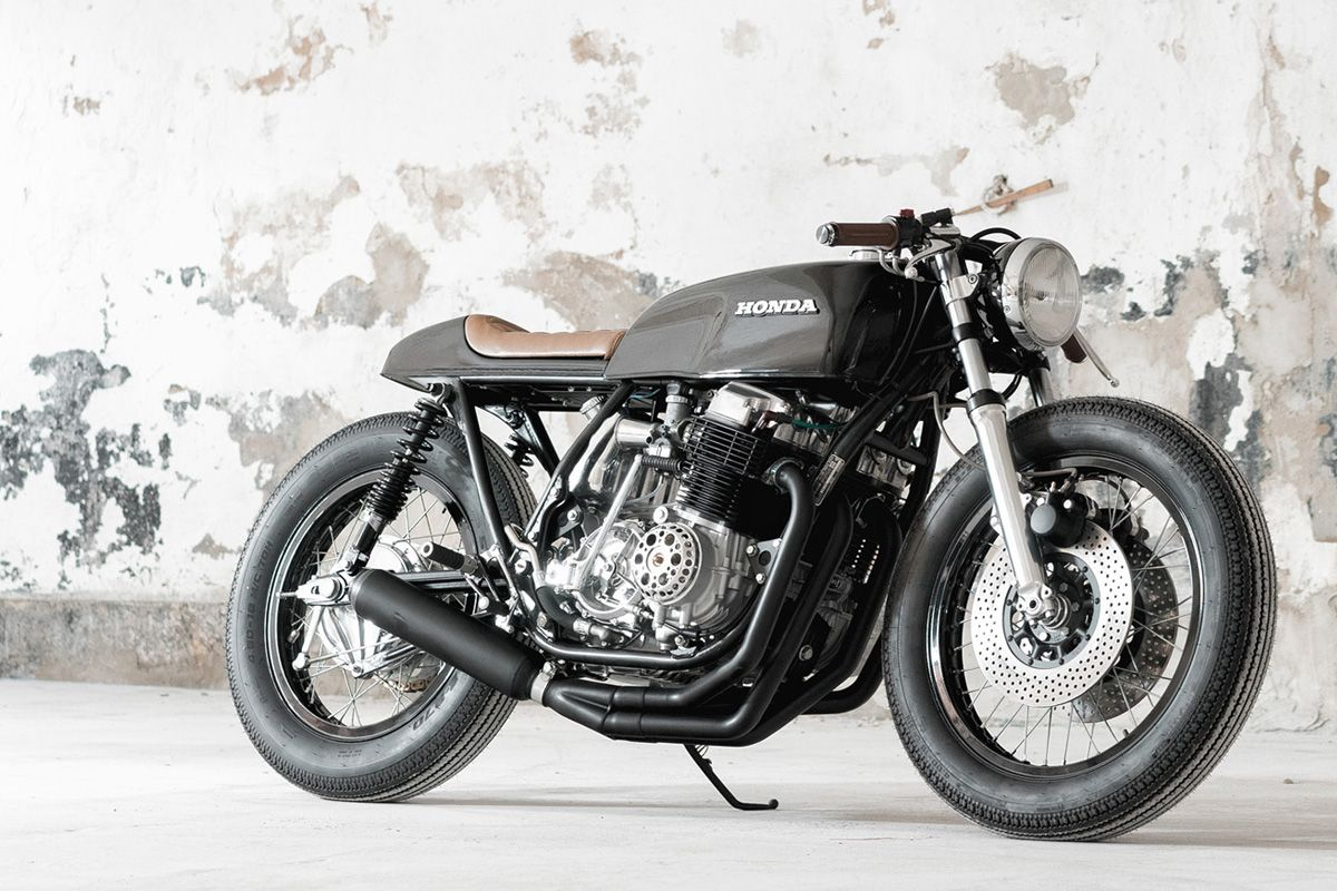 Done And Dusted Honda Cb750 K2 Return Of The Cafe Racers Honda Cb750 Cb Cafe Racer Cafe Racer Motorcycle [ 800 x 1200 Pixel ]