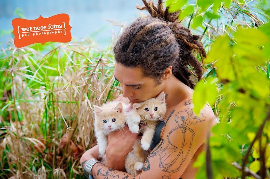 Real Men Are Kind To Animals! { 2013 Charity Calendar